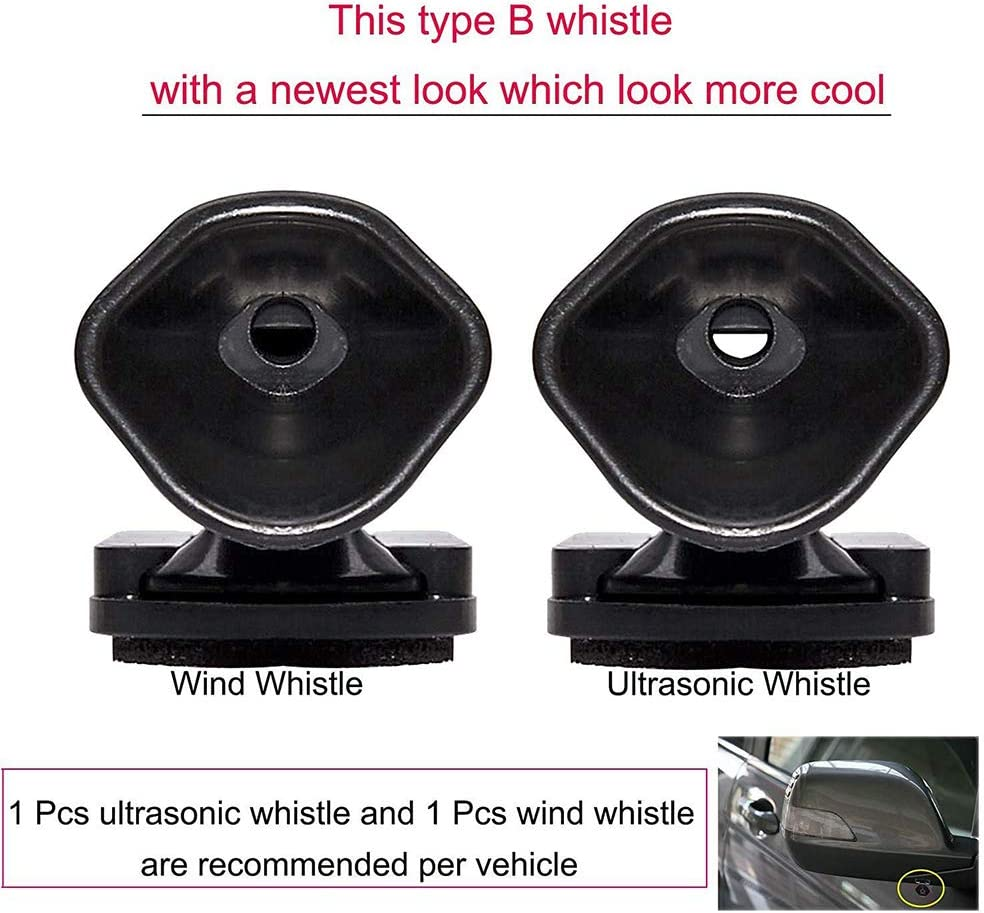 Lovelychica Deer Whistle for Car,Deer Warning Devices for Vehicles Motorcycles Include Ultrasonic /& Wind Whistle Car Safety Accessories Gift