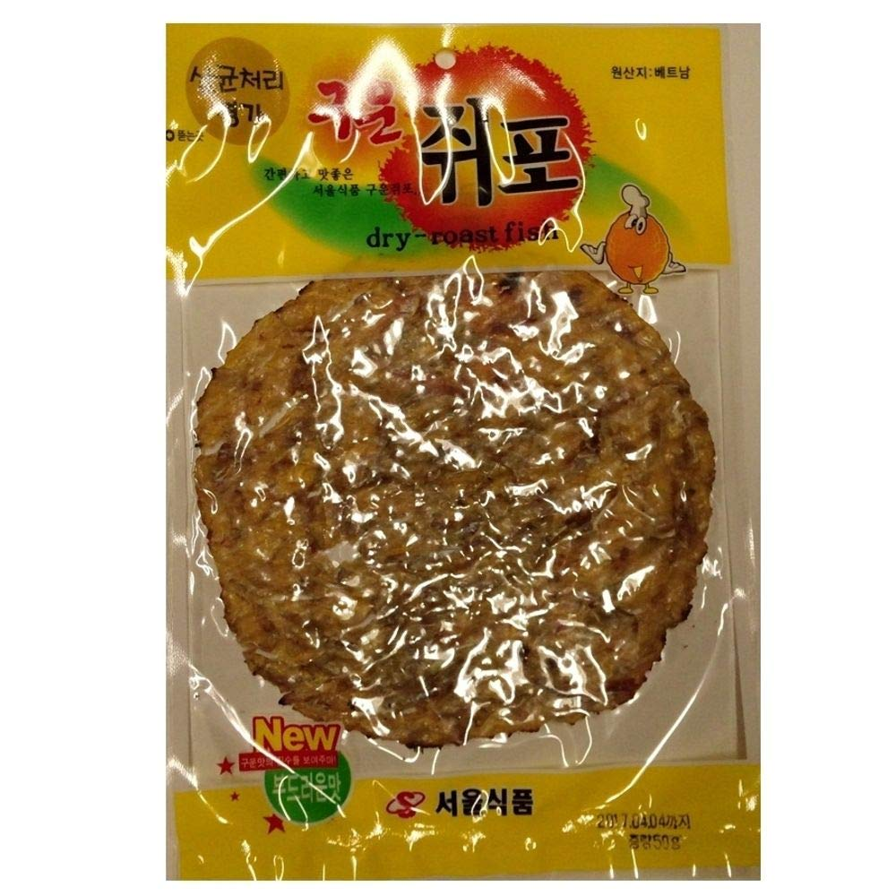 Original Dried Vietnamese Fish with Korean Recipe 50g x 5 count by Seoul Food