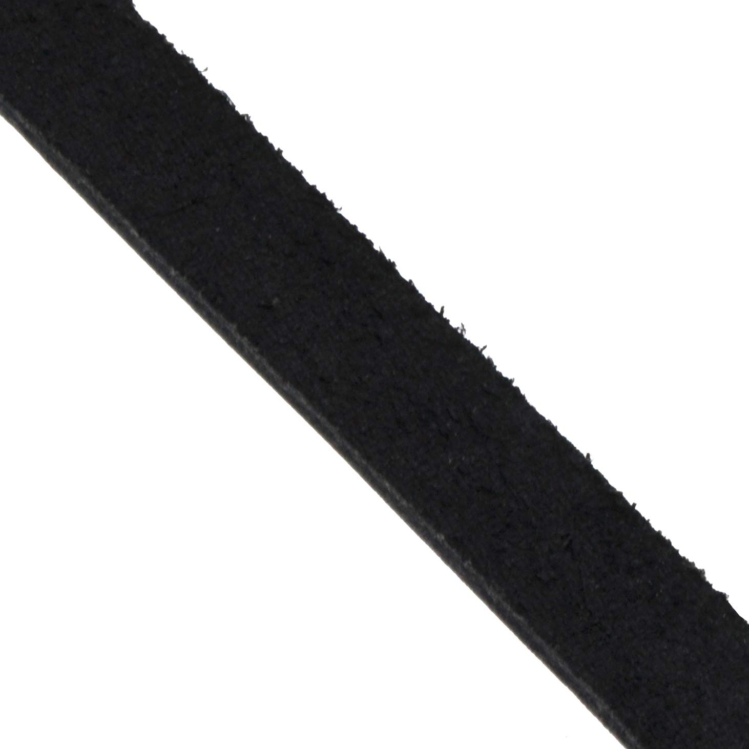 Drawer Pulls 1//2 Inch Wide, 72 Inches Long, Black Ribbons Flat Cowhide Strip Rope for Bags Belts Mandala Craft Genuine Leather Strap Clothing Handle Wraps Jewelry Making