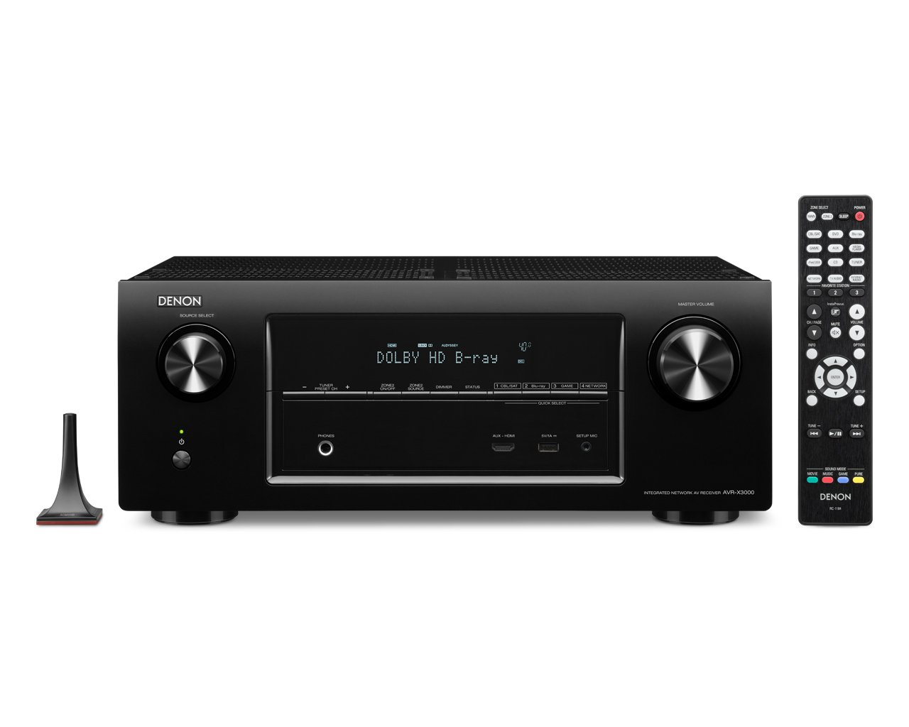 Denon AVR-X3000 7.1 Surround AV-Receiver (Internetradio, 2x HDMI ...