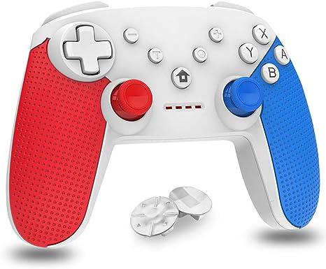 Mando para Nintendo Switch, Bluetooth inalámbrico Controller ...