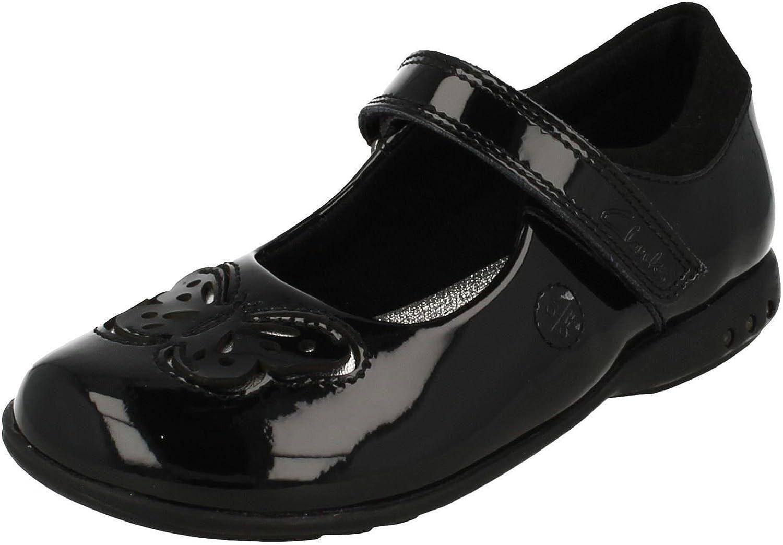 Clarks Girls Light Up School Shoes