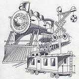 Train Railroad Custom Embroidered Sweatshirt Shirt