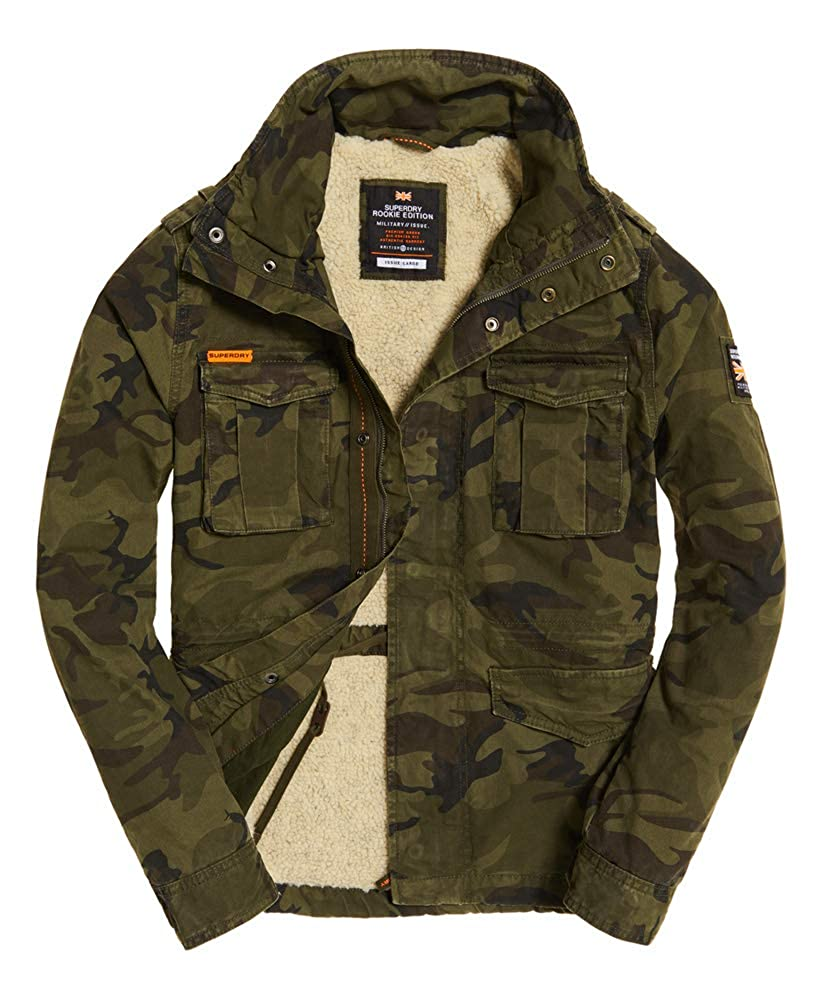9c1d4079be9be Mens Classic Rookie Military Jacket Hurricane Camo S at Amazon Men's  Clothing store: