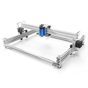 KKmoon A3 Pro 500/2500/5500Mw Grabado Tallado Escritorio Usb Láser Máquina Diy Impresora con Protector Gafas (2500mW): Amazon.es: Bricolaje y herramientas