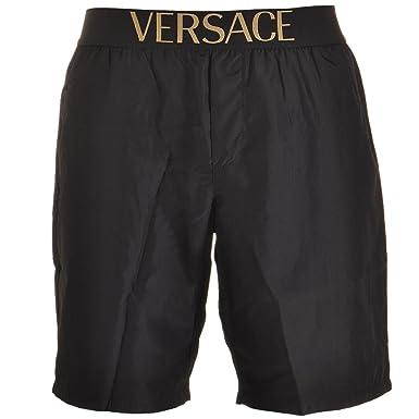989be520d42 Versace - Short de bain - Homme Noir Noir  Amazon.fr  Vêtements et  accessoires