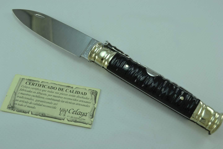 Amazon.com: Machete - Cuchillo artesanal (mango de búfalo, 9 ...