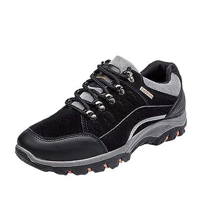 926bdbca4ba Amazon.com   Emerayo Men's Outdoor Sneakers Men's Lace Up Waterproof ...