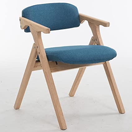 amazon com sfzmrylsy folding wooden chair solid wood dining chair