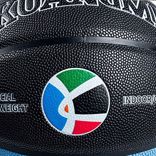 """Kuangmi Olympic Colors Basketball Size 3,4,5,6,7 for Baby Child Boys Girls Youth Men Women (Intermediate Size 6(28.5"""")) by Kuangmi (Image #5)"""