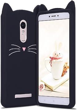 RosyHeart Funda Xiaomi Redmi Note 4X, Carcasa Redmi Note 4X, Patrón de Gato Suave TPU Silicona Funda para Xiaomi Redmi Note 4X 5.5 Ultrafina Parachoques Anti-arañazos Protectiva Caso Caja: Amazon.es: Electrónica