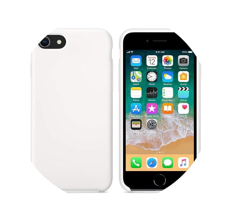 Amazon.com: Carcasa de silicona para iPhone 7 y 8 Plus, para ...