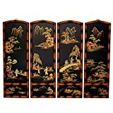 Oriental Furniture Ching Wall Plaques