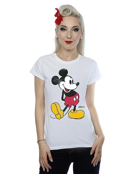 6dedefa03 Disney - Camiseta - Manga Corta - Mujer Blanco Blanco XXX-Large  Amazon.es   Ropa y accesorios