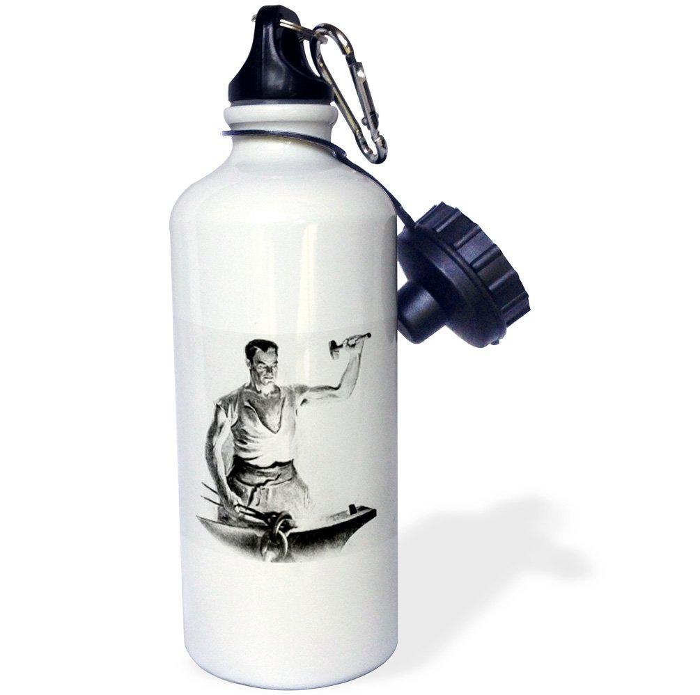 3D Rose wb/_246026/_2 Flip Straw Water Bottle 21 oz