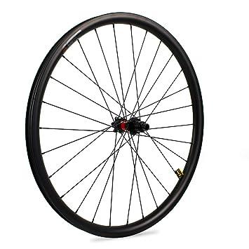 Yuanan - Rueda de Carbono para Bicicleta de montaña XC (1290 g, 29er, 33 mm de Ancho, con buje DT 240 MTB): Amazon.es: Deportes y aire libre