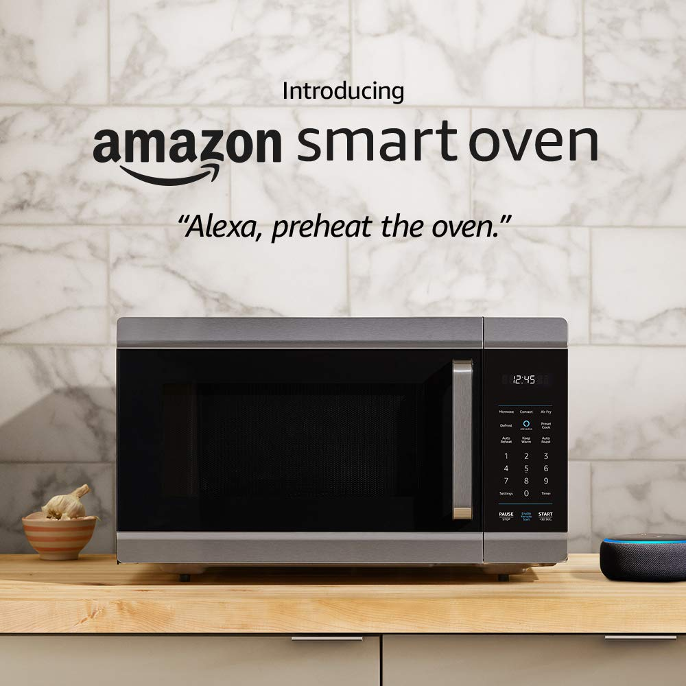 Introducing Amazon Smart Oven, a Certified for Humans device – plus Echo Dot