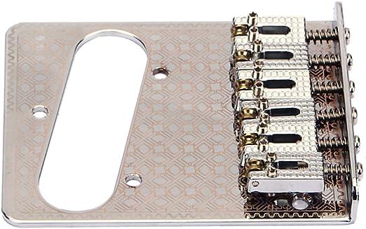 SUPVOX Puente de Guitarra Placa patrón Decorativo para Guitarra Tele Electric b-29: Amazon.es: Hogar