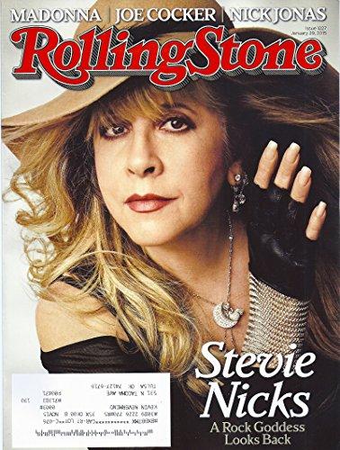 Stevie Nicks * Madonna * Joe Cocker * Nick Jonas * Marilyn Manson * Rolling Stone Magazine