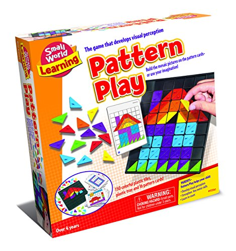 Small World Toys Learning - Pattern Play Mosaic Pictures ()