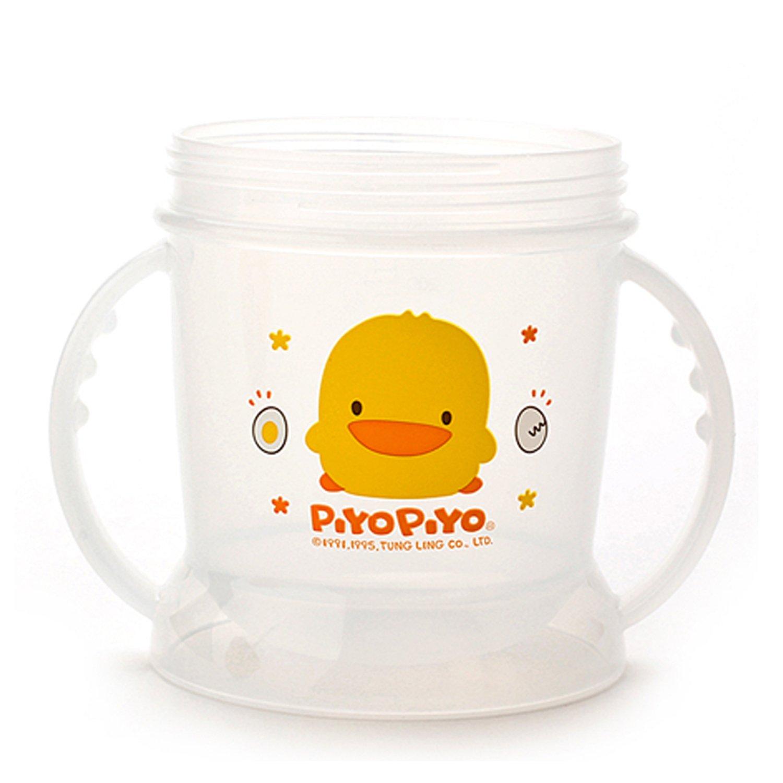 Piyo Piyo Ensemble tasse avec couvercle coulissant et paille