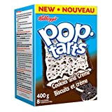 Kellogg's Pop Tarts Toaster Pastries, Cookies and Creme 8 Pastries 400 Gram