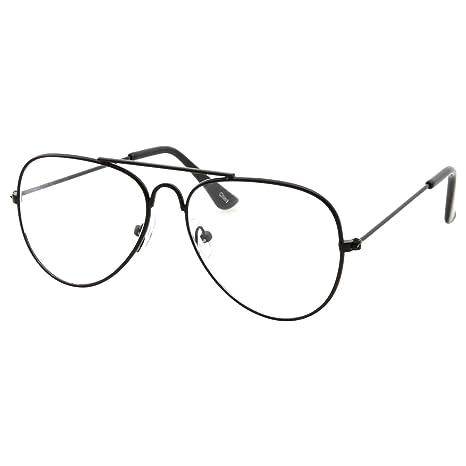 2d97213279 Kids Fake Aviator Eye Glasses Clear Lens Children s Non Prescription (Age 3- 10)  Amazon.in  Sports