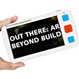 Eyoyo Portable Digital Magnifier Electronic Reading Aid 5.0 inch w/Foldable Handle for Low Vision Color Blindness 4X-32X Time