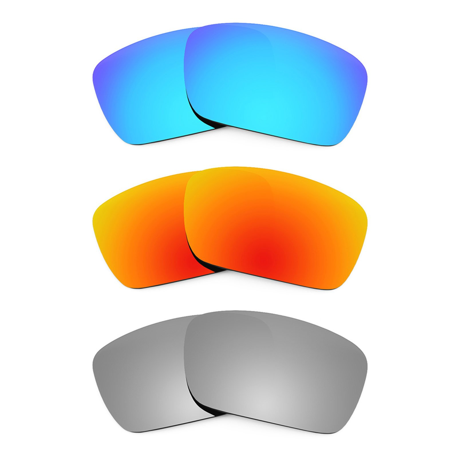 Revant Replacement Lenses for Oakley Fuel Cell 3 Pair Combo Pack K014 by Revant (Image #1)