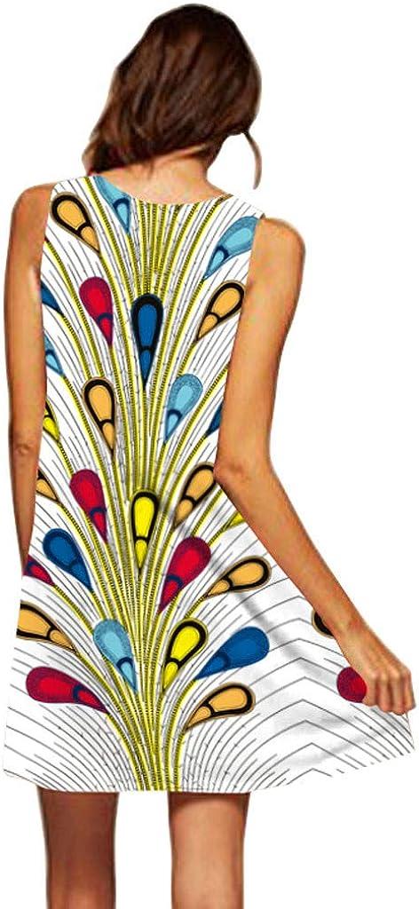 Vestiti Estivi Donna Taglie Forti Vestiti Casual Eleganti Colore Solido Manica Corta Stampato a Pois Girocollo Cotone e Lino T-Shirt Vestiti Camicia Donna Mini Abito Gonne Spiaggia Abiti Sundress Boho