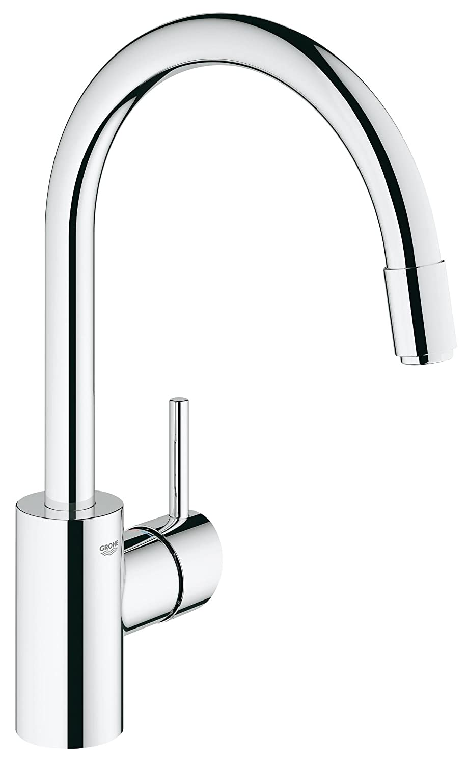 GROHE 32663001 | Concetto Kitchen Tap | Pull-Out Mousseur - chrome ...