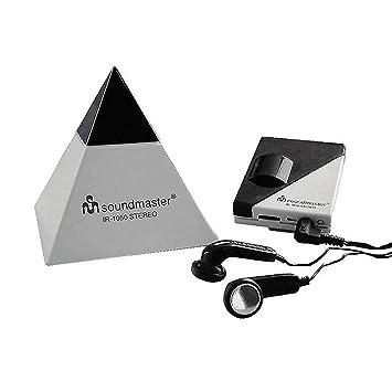 Soundmaster IR1050 Auriculares inalámbricos infrarrojos sonido estéreo (Receptor, Transmisor, alcance 7m, entrada jack 3,5 mm): Amazon.es: Electrónica
