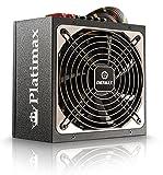 Enermax Platimax 600W, 12V Multiple Rail, 80 Plus Platinum, Modular ATX Power Supply EPM600AWT