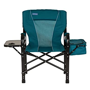 amazon com glitzhome foldable metal director chair with deluxe