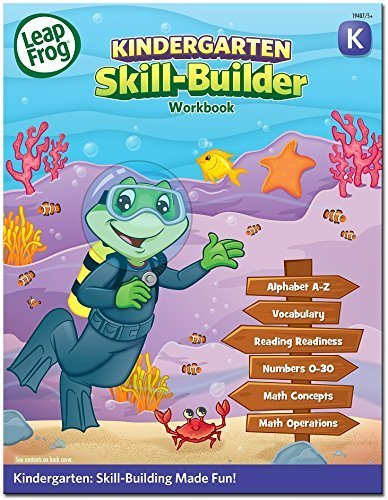 Amazon.com: Leap Frog Skill Builder Workbook - Kindergarten: Toys ...