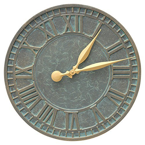Whitehall Geneva 16″ Indoor Outdoor Wall Clock or