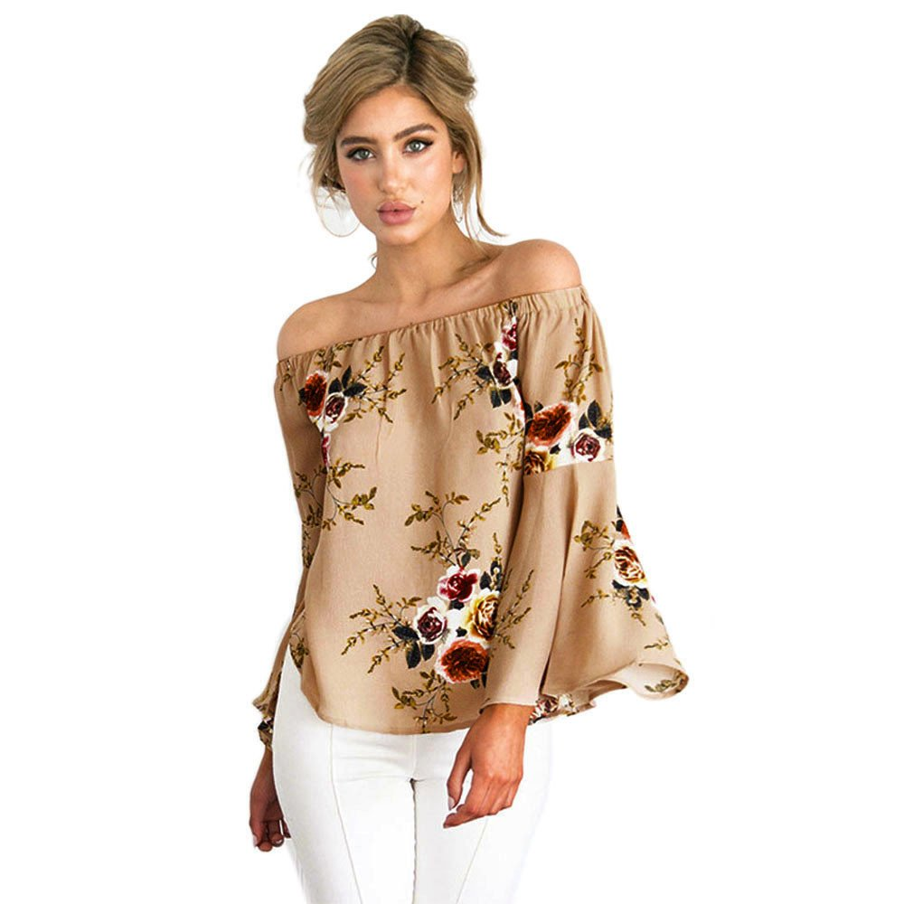 New Women Flare Cami Sleeve Shirt Floral Vest Black Print Strapless Casual Top Blouse Irregular Sleeveless T Shirt