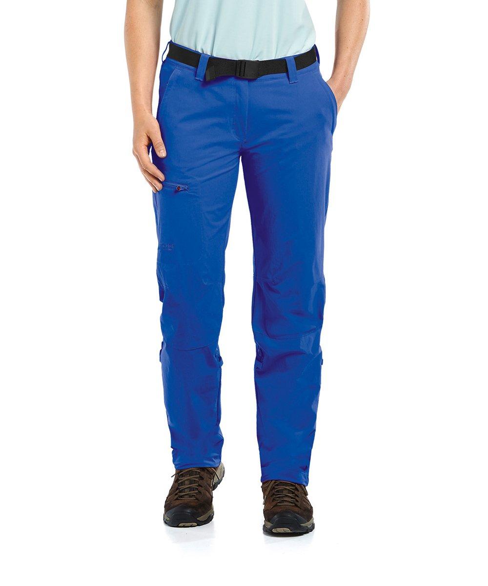 Maier Sports Damen Lulaka Pant Roll Up Dazzling Blau