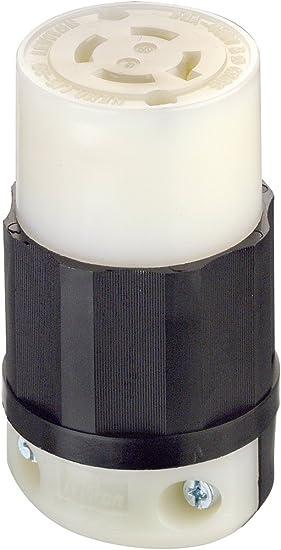 NEMA L16-20P Locking Plug Rated for 20A L16-20 Plug 480V