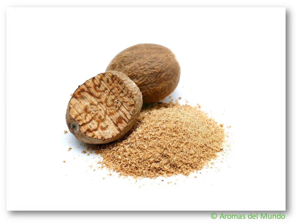Aroma natural Nuez moscado molido 1000 g: Amazon.es: Alimentación y bebidas