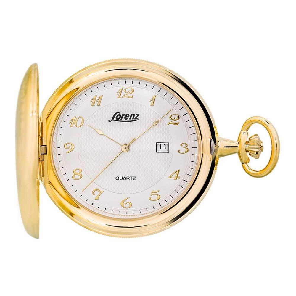 Lorenz 30038BB unisex quartz pocket watch