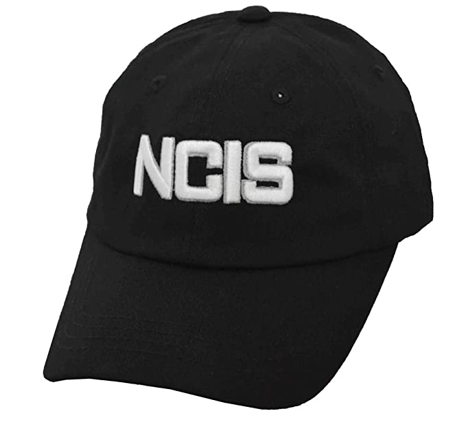Image Unavailable. Image not available for. Color  Naval Criminal  Investigative Service NCIS Adjustable Cap Soft Structured Hat Black 2f94e1bfc612