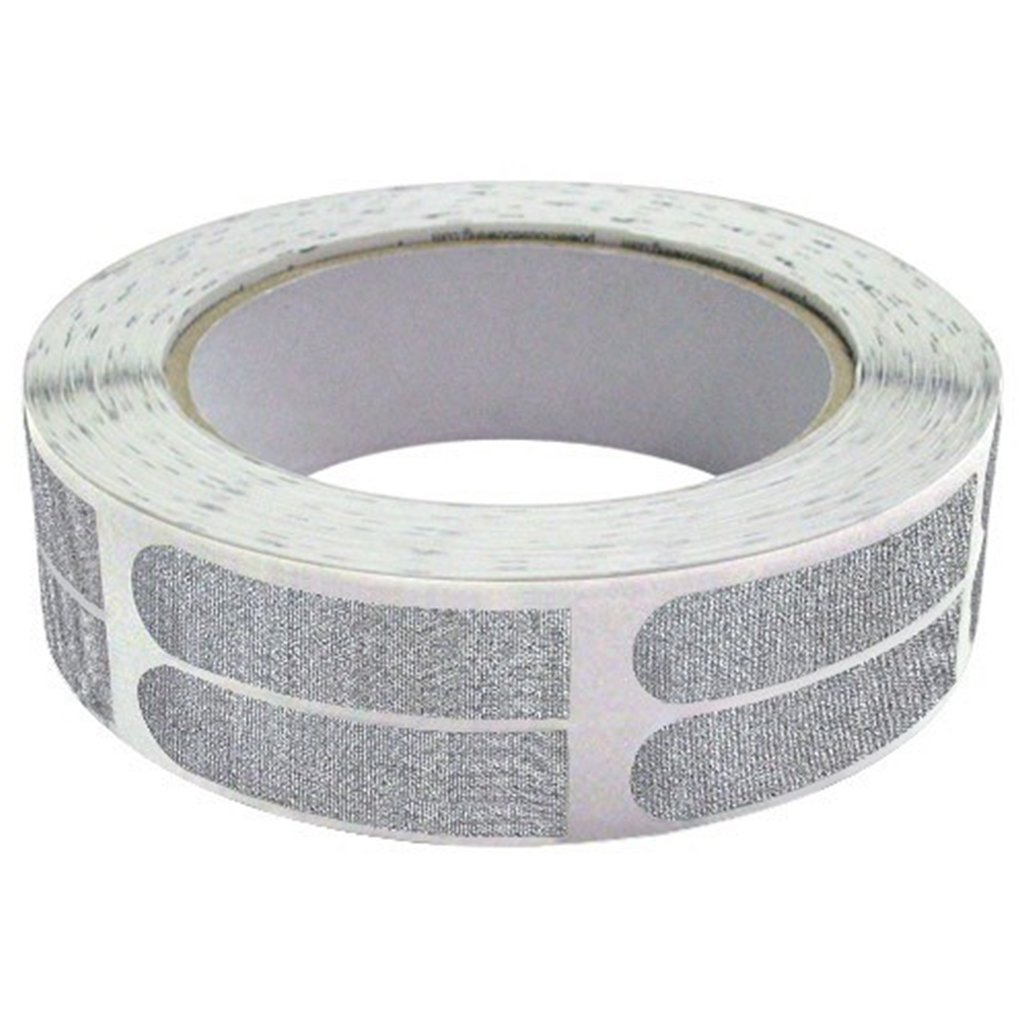 Real Bowlers Tape Silver Roll of 500- 1/2 Inch