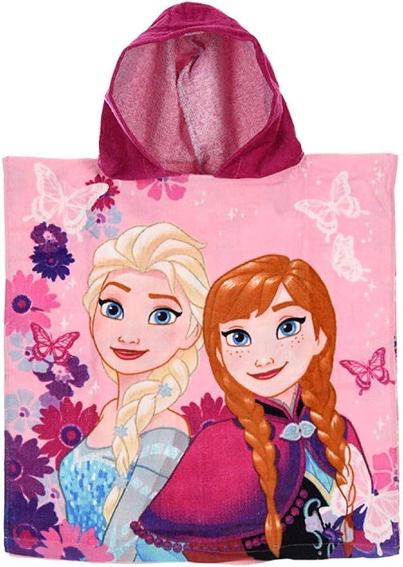 Super Wings Paw Minnie Frozen Princess Ladybug Pony Barbie Peppa Theonoi Badetuch Bademantel Kapuzen Poncho f/ür Kinder Baumwolle Geschenk M/ädchen w/ählbar