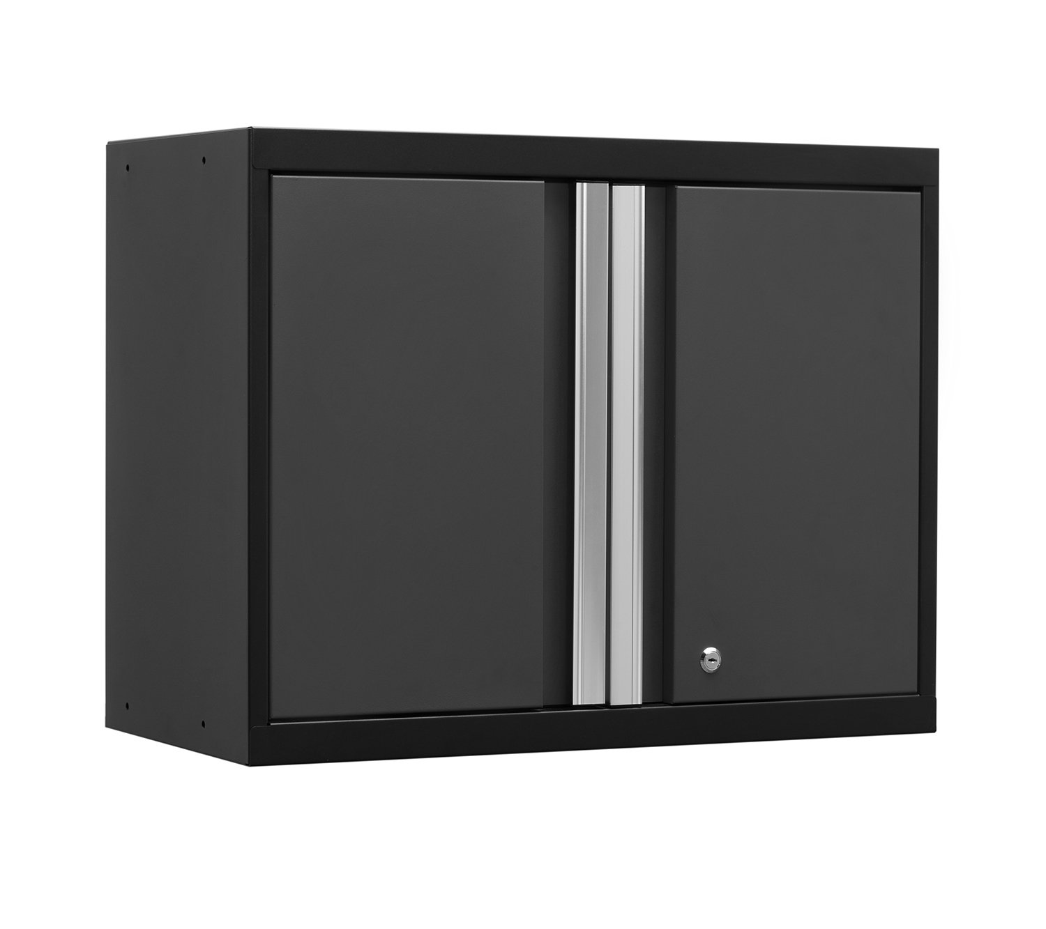 NewAge Products 52000 Pro 3.0 Series 18-Gauge Metal Wall Cabinet, Gray