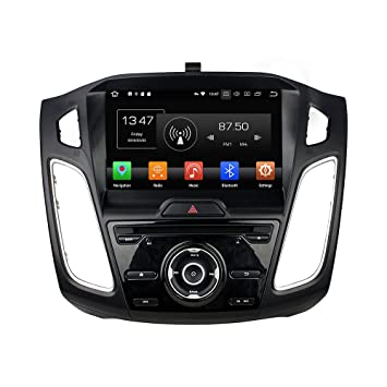 Kunfine Android 8.0 Octa Core Car DVD GPS Navigation Multimedia Player Car Stereo for Ford Focus