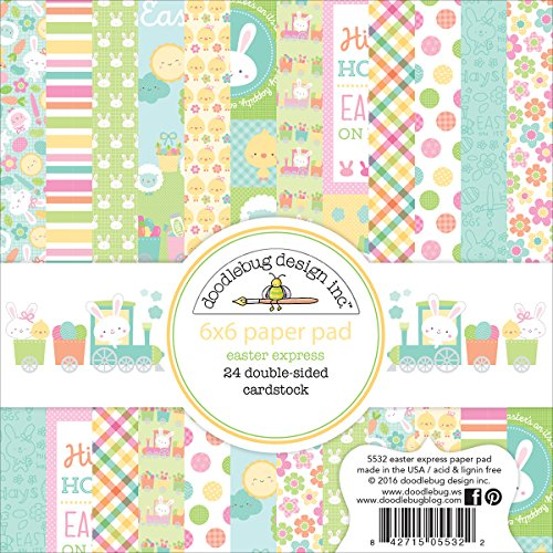 DOODLEBUG 5532 Double-Sided Paper Pad 6