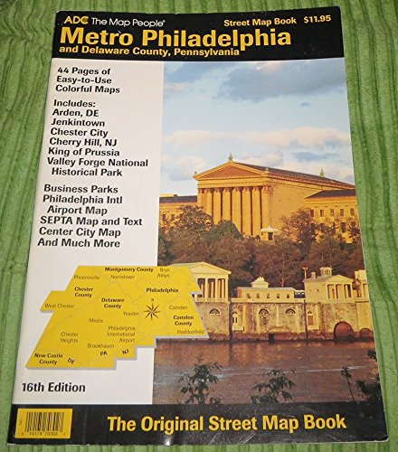 Philadelphia Subway Map From Chrrry Hill Nj.Metro Philadelphia And Delaware County Pennsylvania The Map People