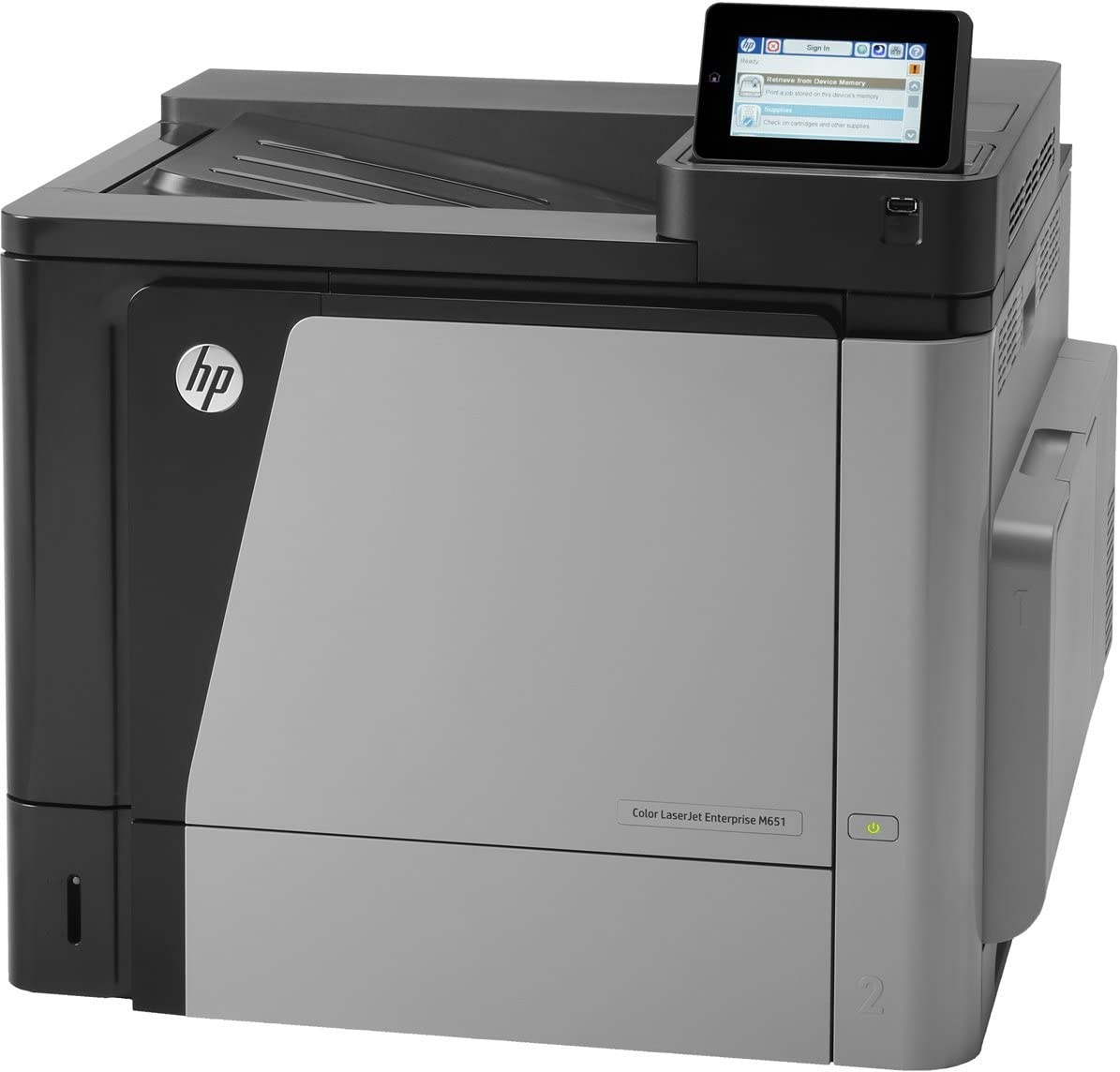 HP Laserjet Enterprise M 651 DN - Impresora Láser Color: Amazon.es ...