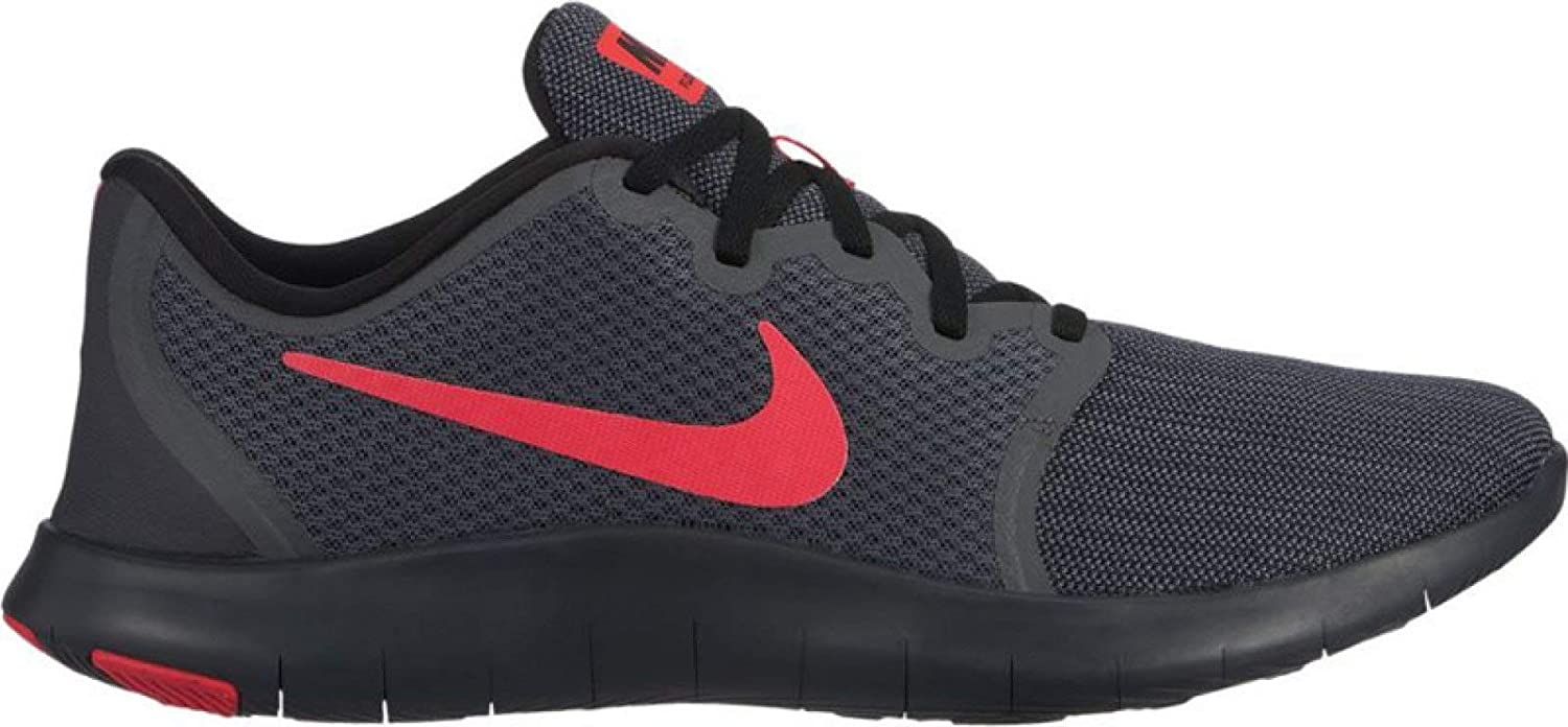 ad637f678ec9d Nike Men s Flex Contact 2 Dark Grey Red Training Shoes (AA7398-016)  Buy  Online at Low Prices in India - Amazon.in